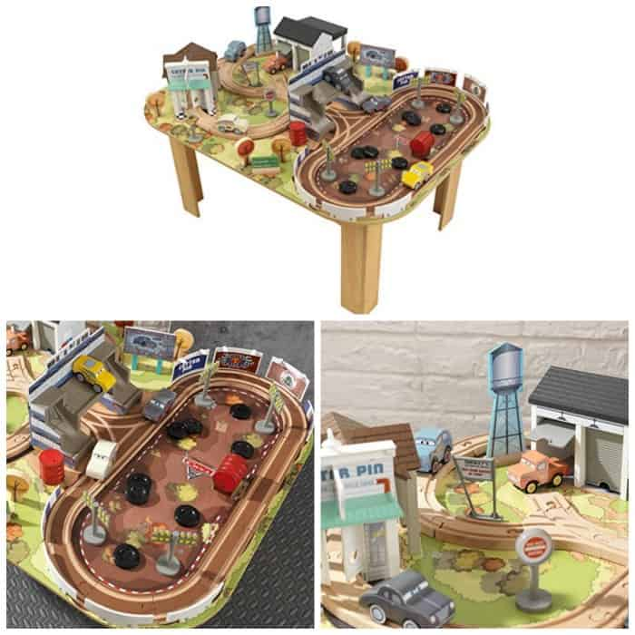 Kidkraft Cars 3 Track Set With Accessories And Table Just