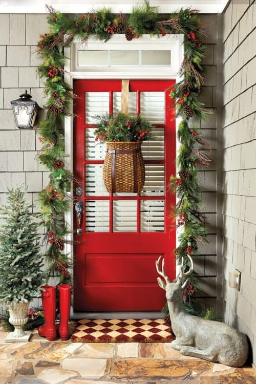 christmas porches pictures