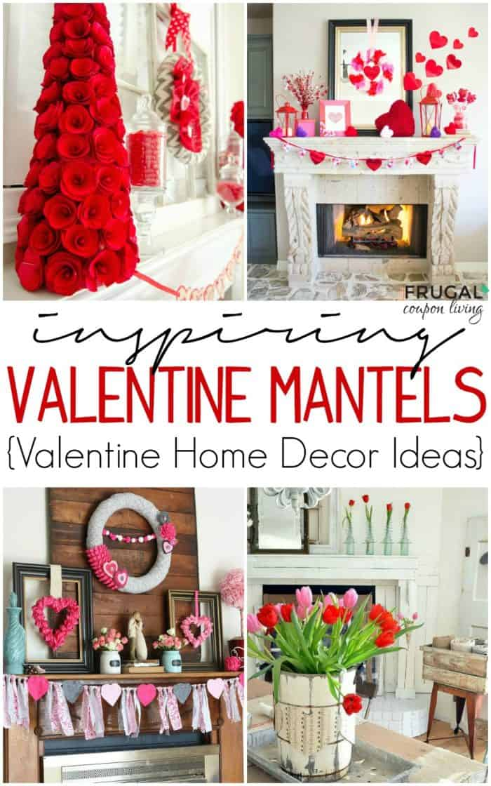 Fourteen Valentine Mantel Ideas And Valentine S Day Decor For Your Home