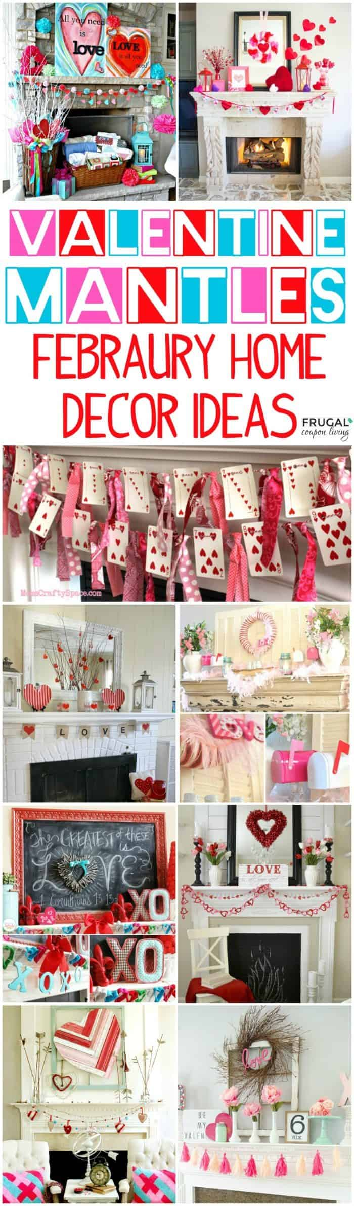 Save  sc 1 st  Frugal Coupon Living & Fourteen Valentine Mantel Ideas and Valentineu0027s Day Decor for your Home!