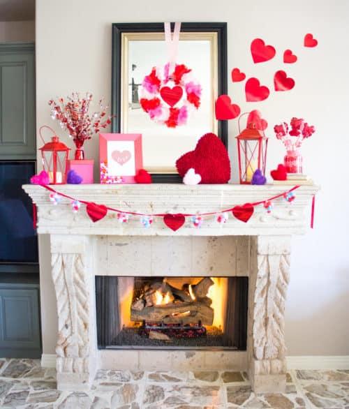 Save. This Valentine Mantel Idea ...