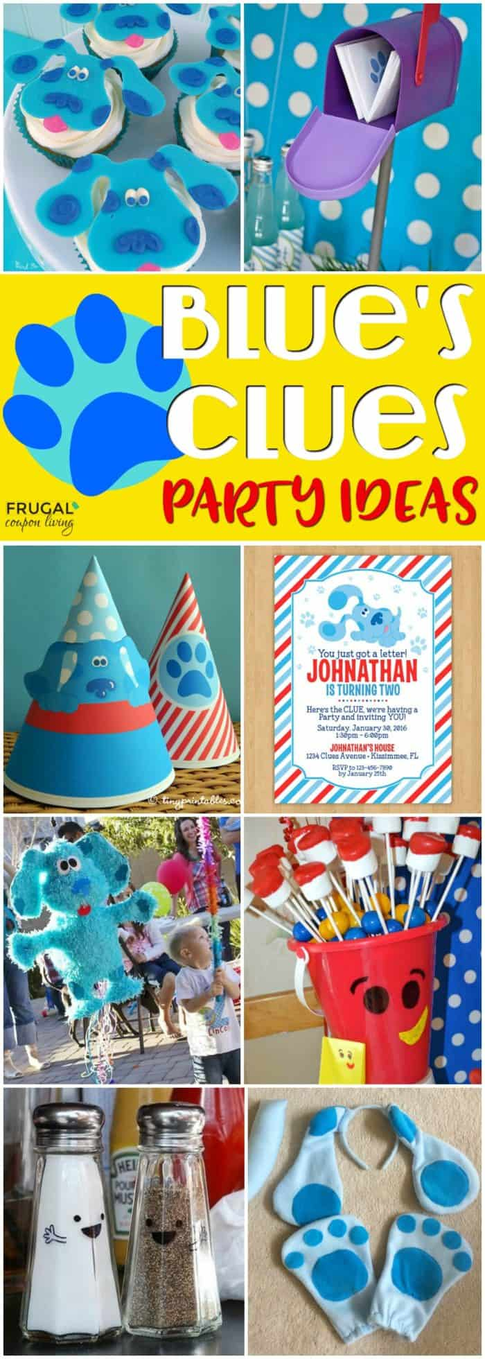 Blues Clues Party Ideas for Your Childs Themed Birthday Party