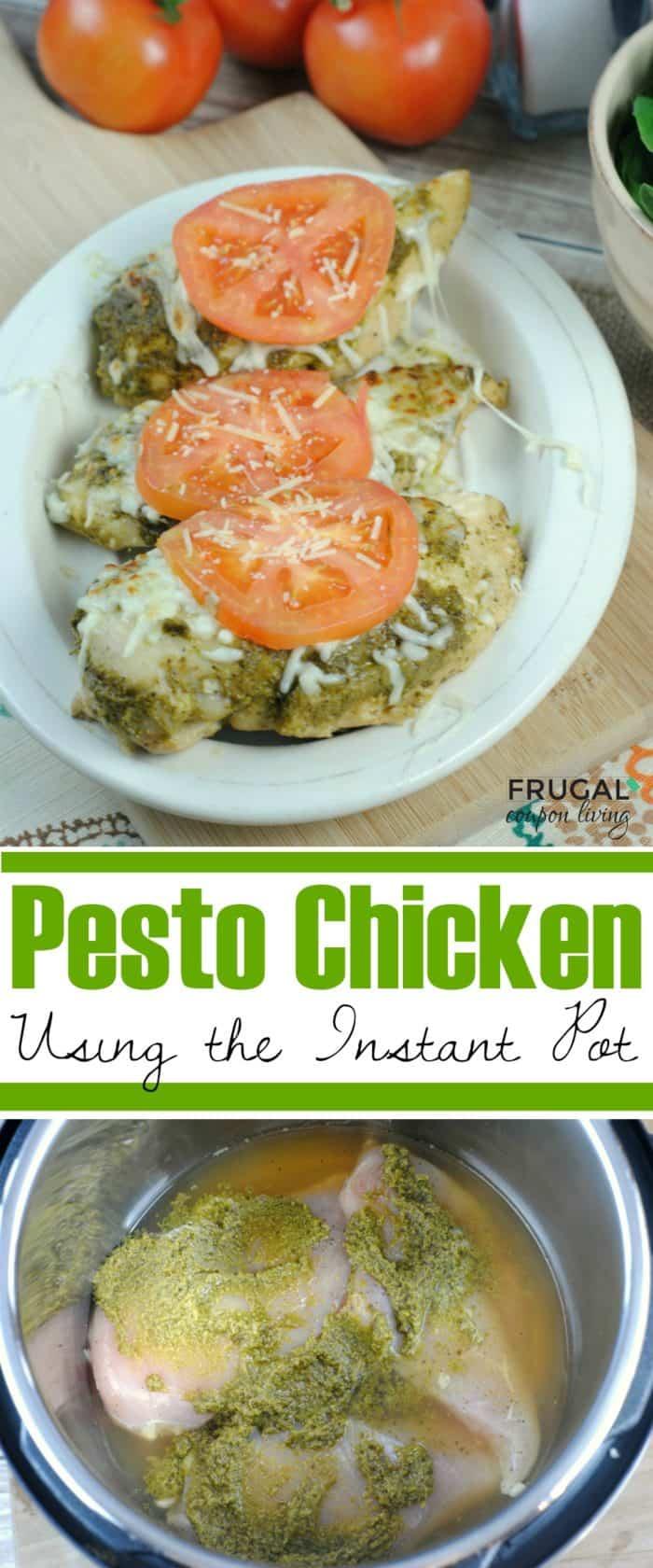 Instant Pot Pesto Chicken Recipe