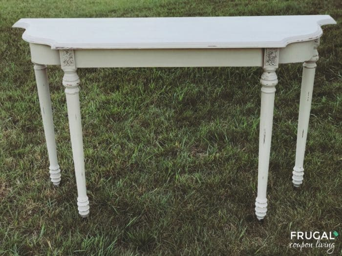 Upcycled Farmhouse Table with Homemade Chalk Paint