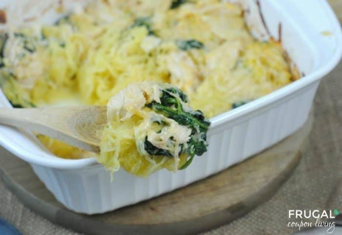 Chicken, Squash & Spinach Keto Casserole