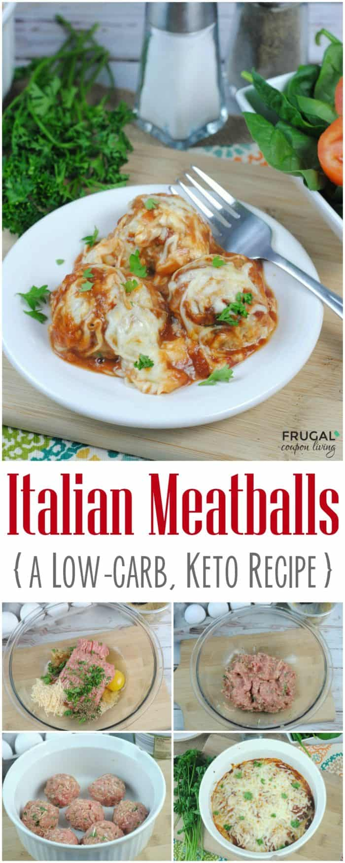 Low Carb Dinner Italian Keto Meatballs