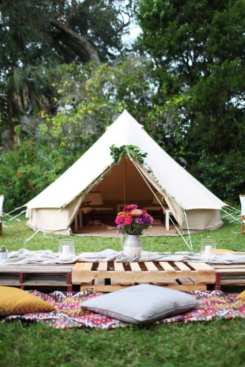 Glamping Ideas For The Ultimate Camping Trip For The Girls
