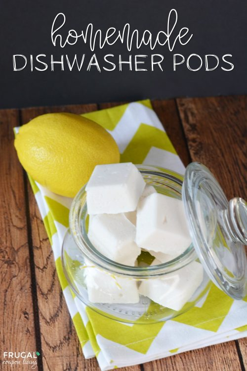 Homemade Dishwasher Tablets