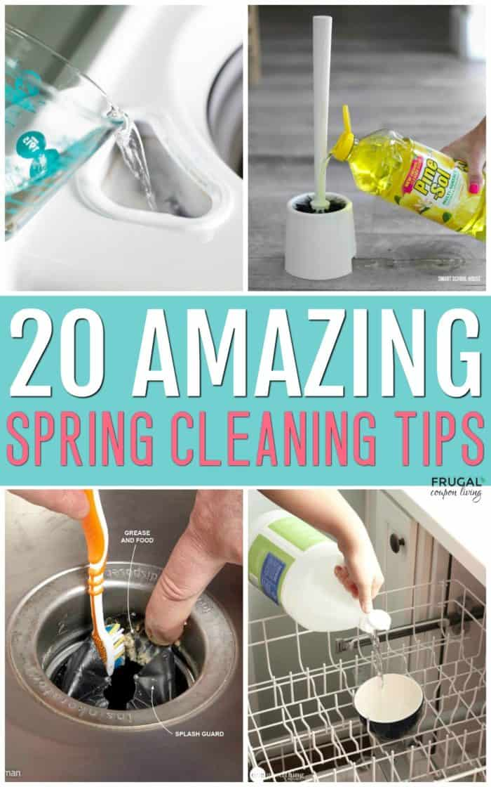 Spring Cleaning Tips and Hacks - Tackling the Neglected Areas