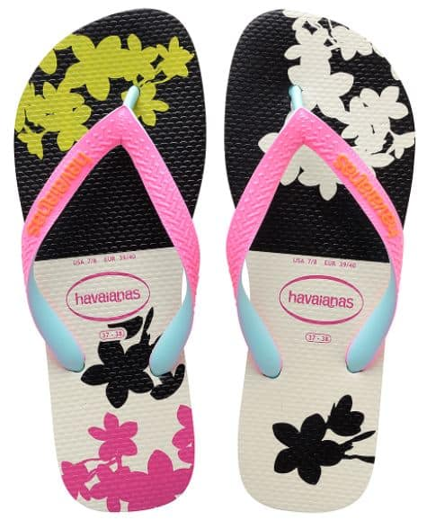 3db2c14dd Want flip flops with bright colors for summer wear  I love the colors on  these White   Black Top Fashion Flip-Flops. These are on sale for  12.99  (reg.