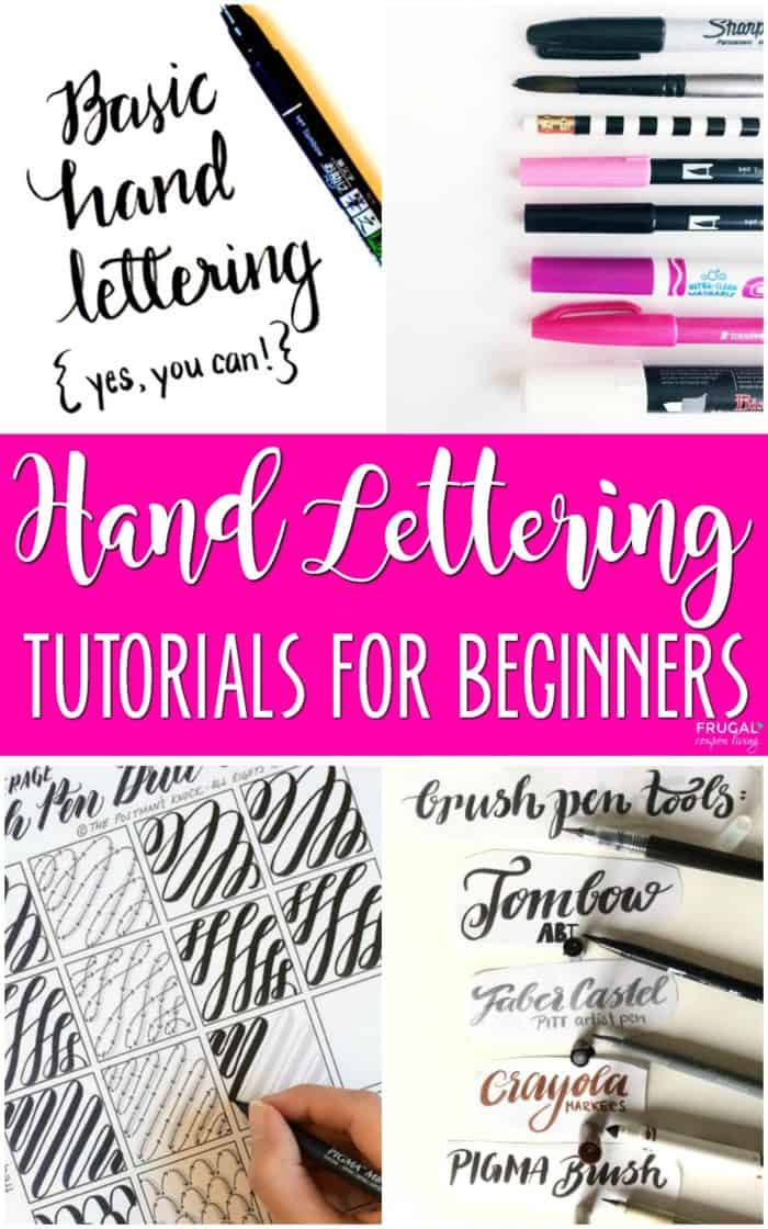Chalkboard Art Tutorials and Hand Lettering Tutorials for beginners and those who desire the skill of script. Calligraphy and Chalkboard Lettering. Details on Frugal Coupon Living. #handlettering #chalkboardart  #FrugalCouponLiving #lettering #calligraphy #tutorials #calligraphytutorial #handletteringtutorial #chalkboardtutorial #chalkboardlettering