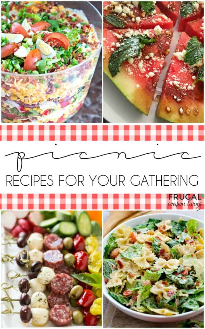Picnic Food Ideas Recipes That Can Be Eaten Outdoors