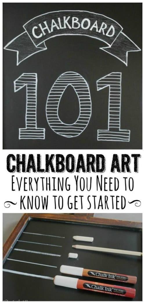 Chalkboard Art Tutorials