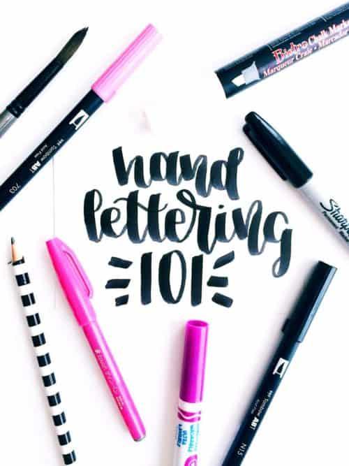 Hand Lettering Tutorials