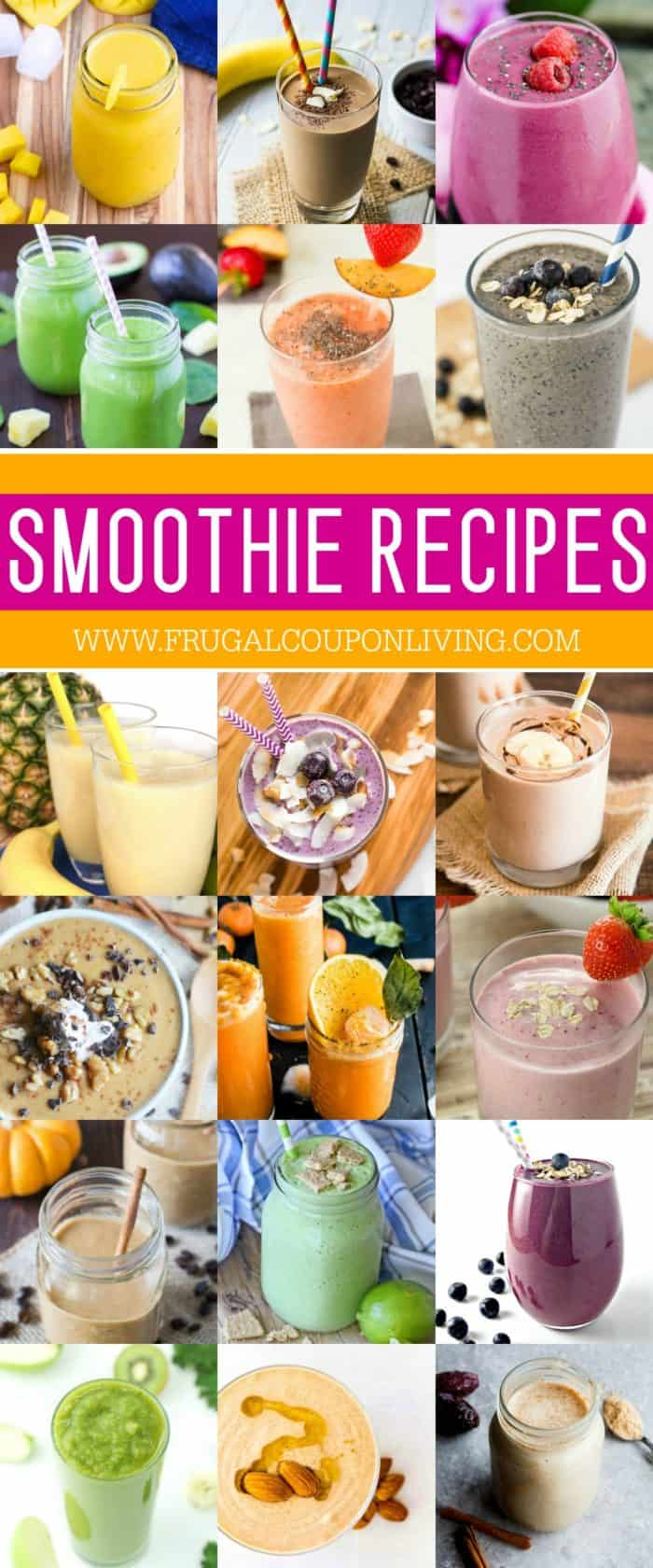 Healthy Smoothie Recipes and Tips from a Smoothie Expert #recipes #smoothie #smoothierecipes #healthyrecipes #workoutrecipes #drinkrecipes #milkshake #milkshakerecipes #FrugalCouponLiving