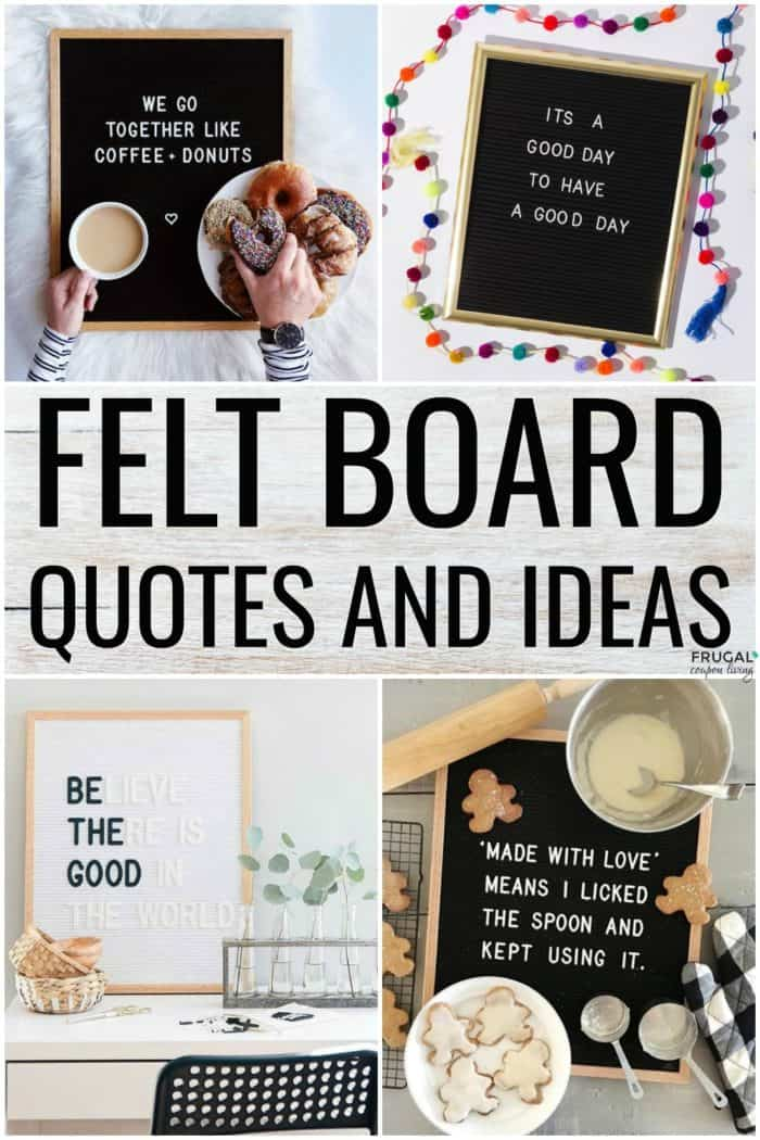 Felt Board Quotes and Funny Felt Board Ideas