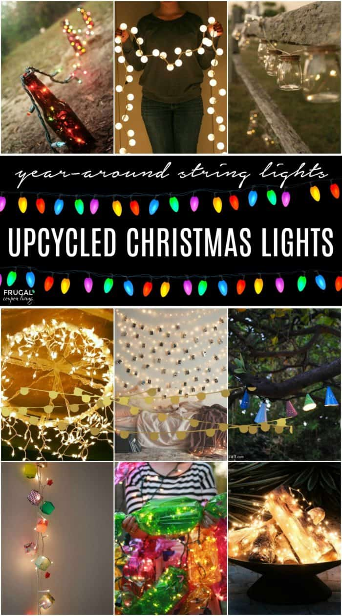 Christmas in July – Creative Ways to Upcycle Christmas Lights