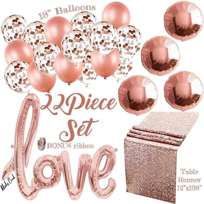 Rose Gold Party Bundle