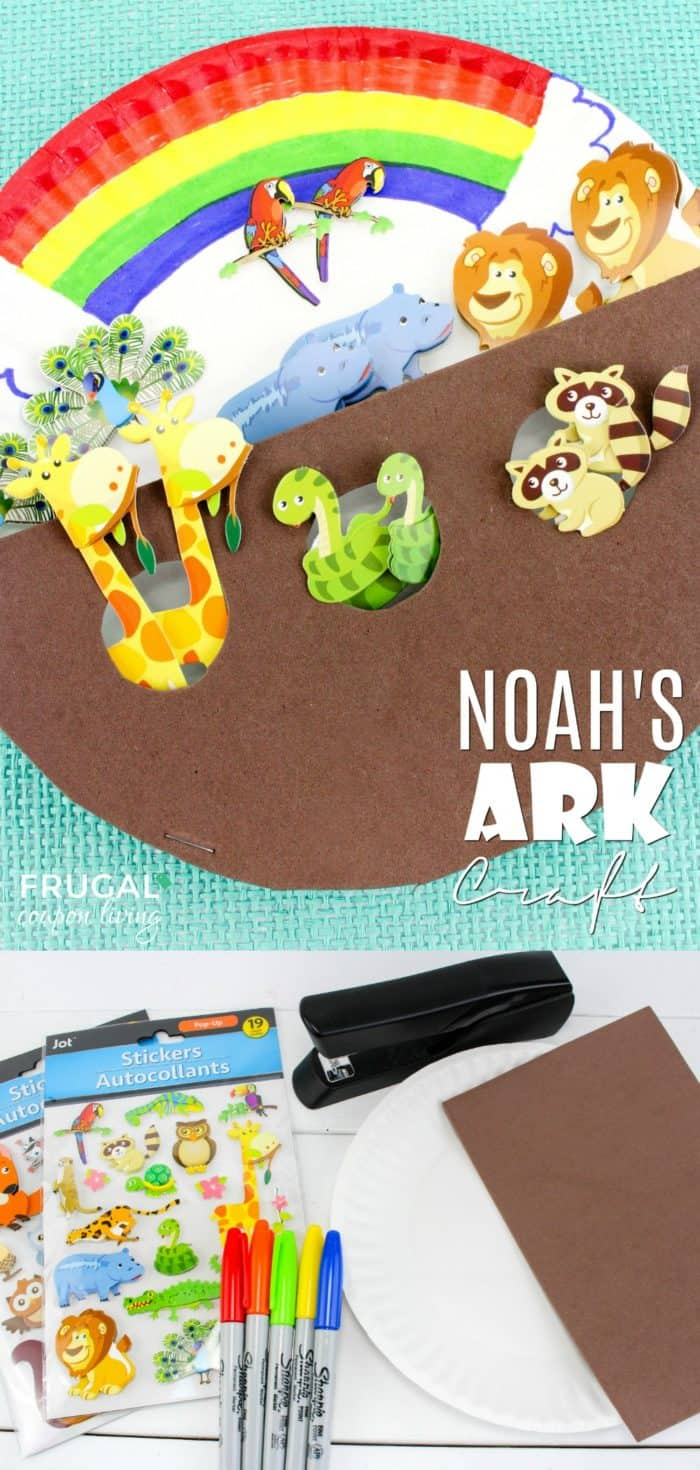 Noah's Ark Sunday School Craft