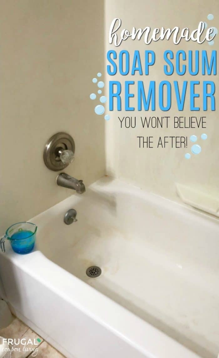 Homemade Soap Scum Remover
