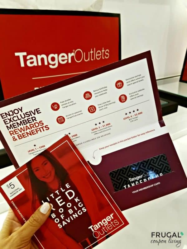Outlet Shopping in Washington, DC - Tanger Outlet Rewards