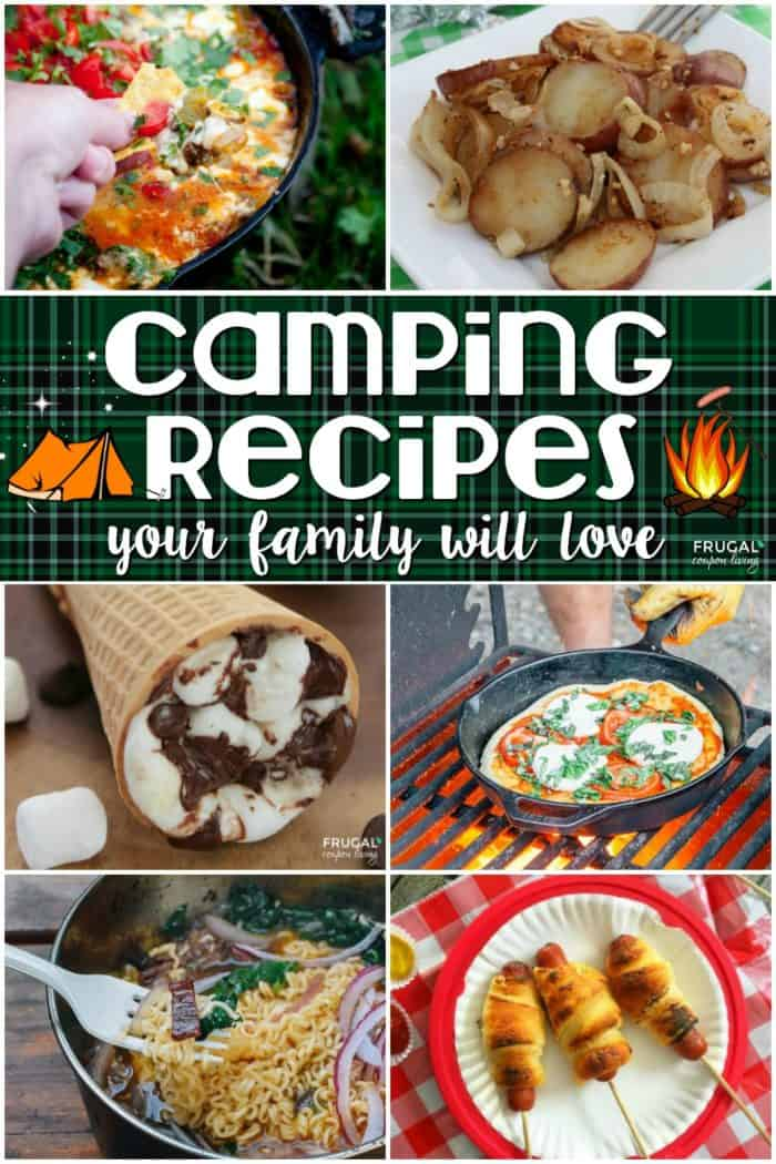 20 Camping Recipes Your Family Will Love
