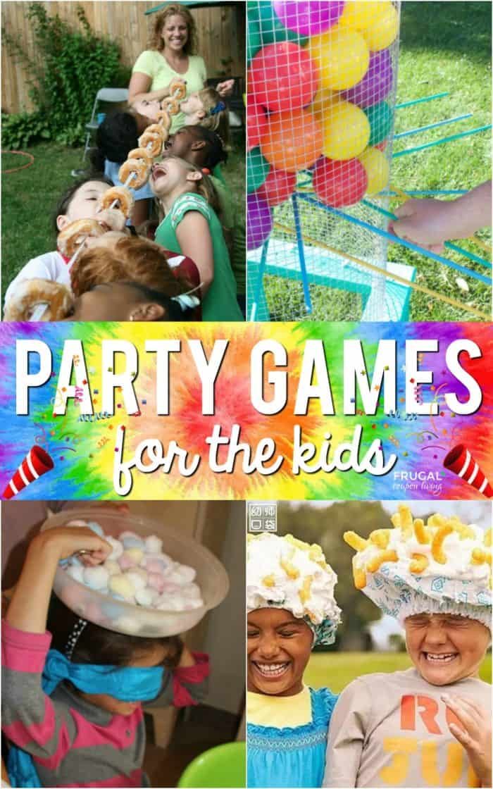 Creative Kids Party Games for your celebration. These ideas transfer well to birthdays, outdoor gatherings, and even in the classroom! Warning: fun involved!  #FrugalCouponLiving #kidspartygames #partygames #party #partyideas #birthday #birthdaygames #birthdayideas #classroom #classroomgames #classroomideas #gatherings #picnics #picnicgames