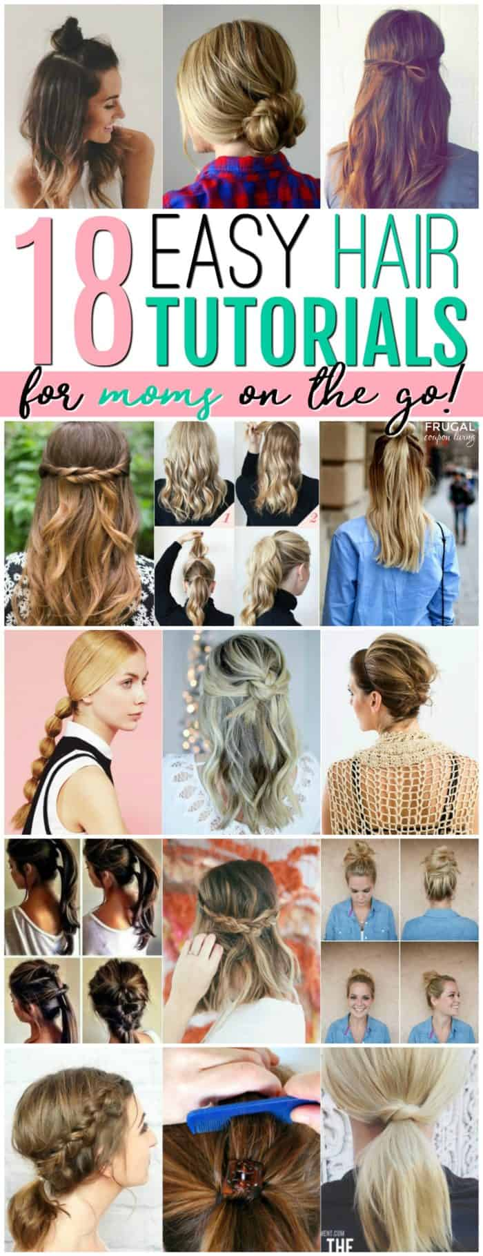 Easy Hairstyles for Mom