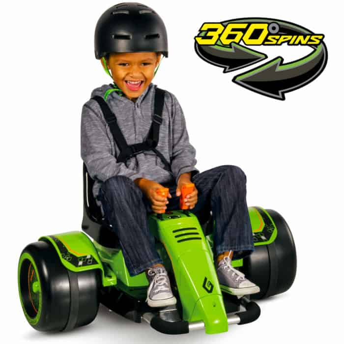 Huffy Electric Green Machine Ride-On $69.00 Shipped