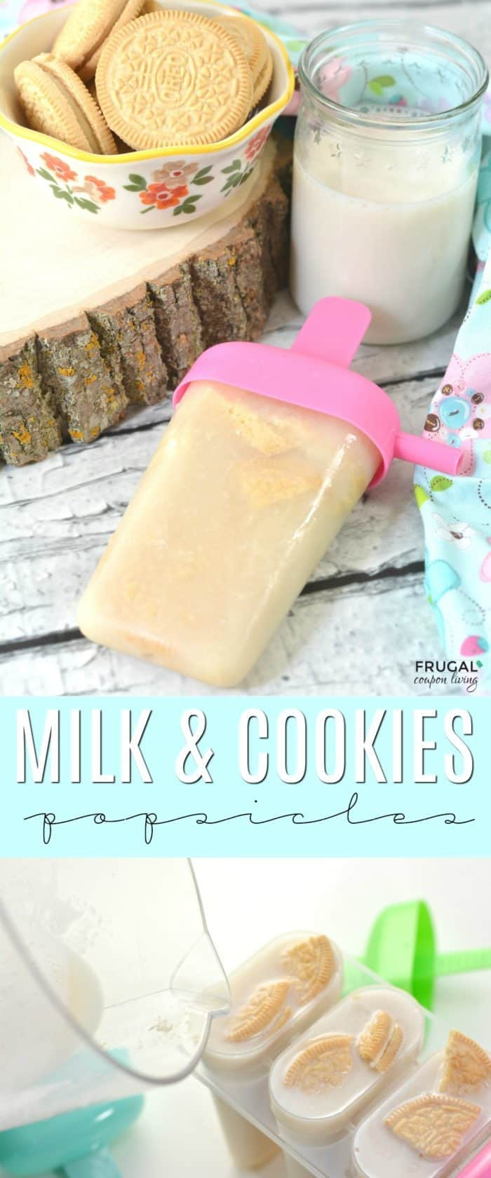 Milk and Cookies Popsicles