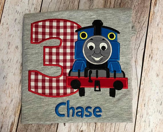 We Love This Personalized Thomas The Train Birthday Outfit Dont Forget Boys Overalls