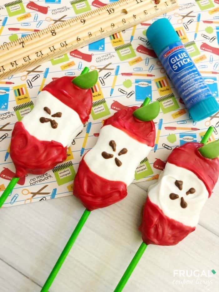 Easy Back to School Apple Pops - 2 Simple Ingredients