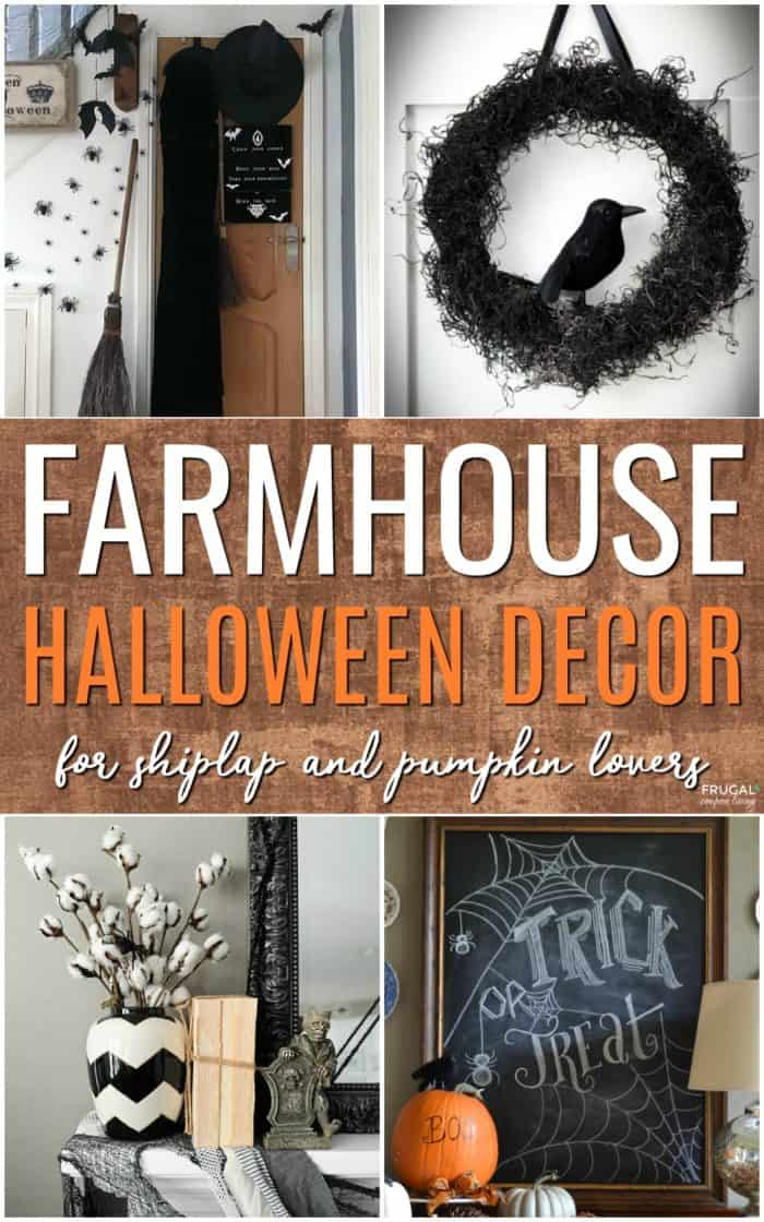 Fall-o-Ween Farmhouse Halloween Decor