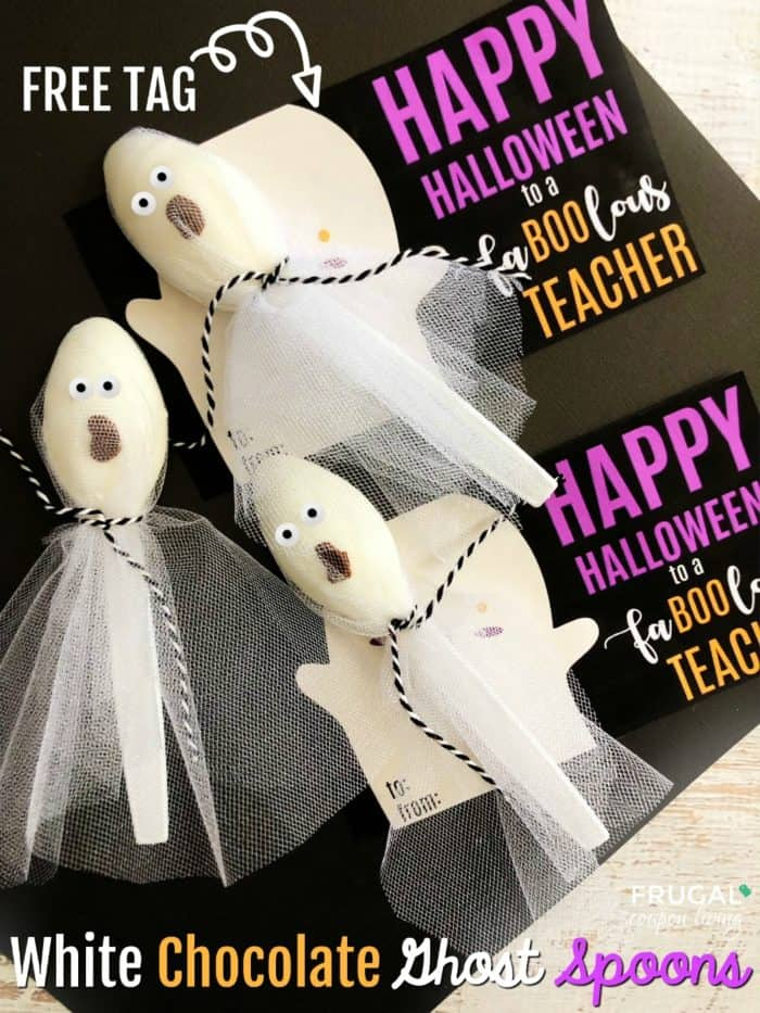 Fa-Boo-lous Teacher Gift for Halloween with Free Printable