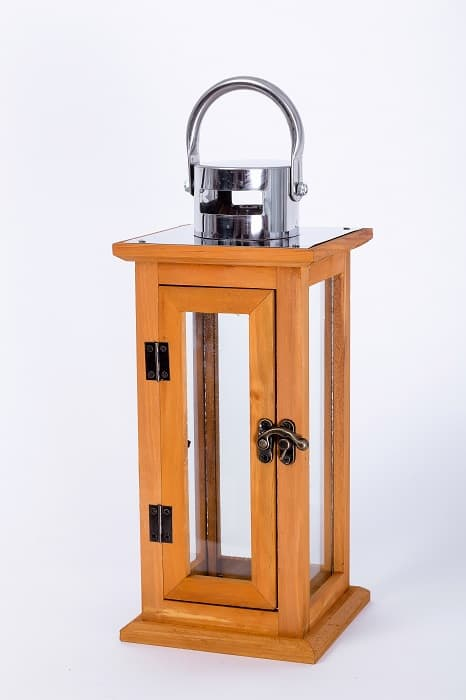Prairie Grove Large Outdoor Wood Lantern