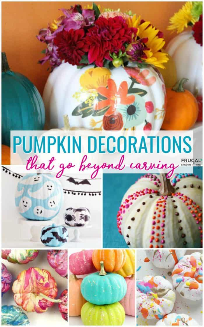 20+ Creative Pumpkin Decorations That Go Beyond Carving
