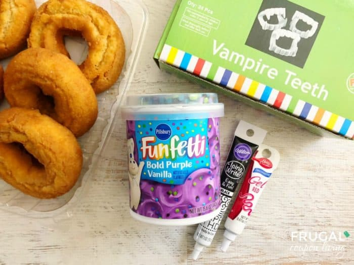Halloween Donuts Ingredients
