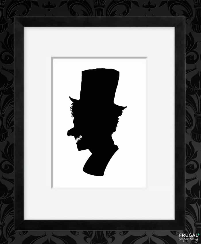 Monster Shadow - Halloween Silhouette Portrait Printables