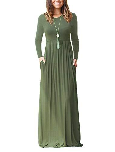 7ba9ed11f5d3 GRECERELLE Women's Sleeveless Racerback Maxi Dresses $22.99
