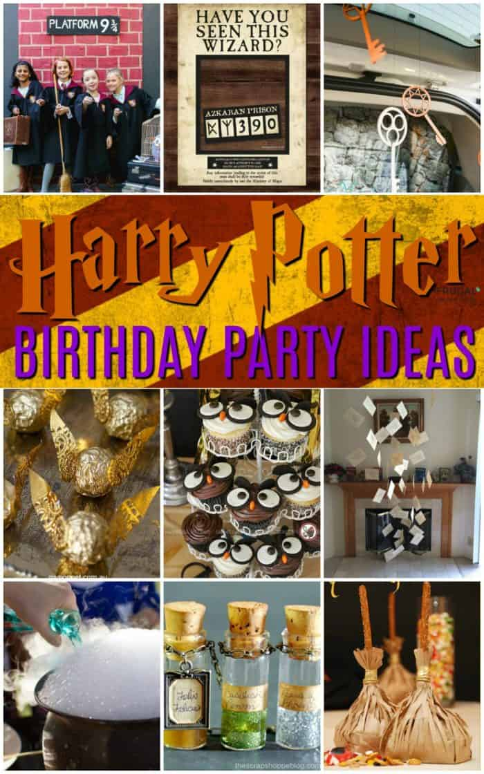Creative Harry Potter Birthday Party Ideas to pull off the best wizard celebration. Magic Wands, Butterbeer recipes, DIY Quidditch snitches and more! #FrugalCouponLiving #BirthdayParty #HarryPotter #HarryPotterBirthday #HarryPotterBirthdayPartyIdeas #Wizard #wizardparty #wizardbirthdayparty #harrypotterparty #harrypotterpartyideas #harrypotterpartydecorations #harrypotterbirthdaypartyideas #harrypotterbirthdaypartydecorations