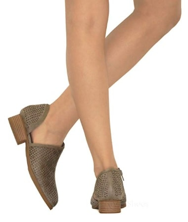 Pointed Toe Slip On Ankle Bootie
