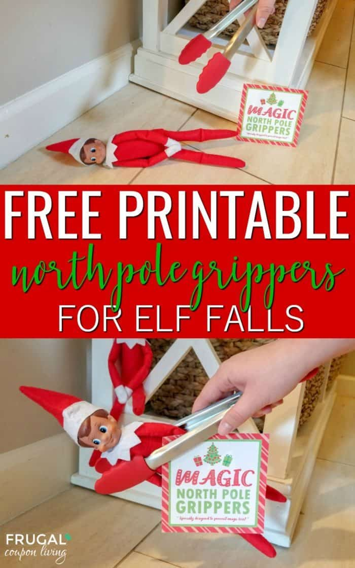 Free Elf on the Shelf magic grippers printable. Specially designed to prevent magic loss after a great fall! #FrugalCouponLiving #ElfontheShelf #ElfontheShelfIdeas #ElfIdeas #funnyelfideas #funnyelfontheshelf #elfprintables #freeelfprintables #printables #freeprintables