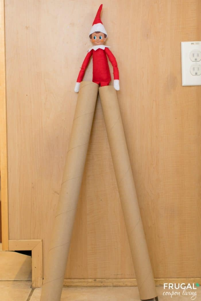 Elf Gift Wrap Stilts