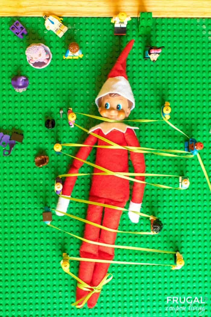 Elf is captured by LEGO Men