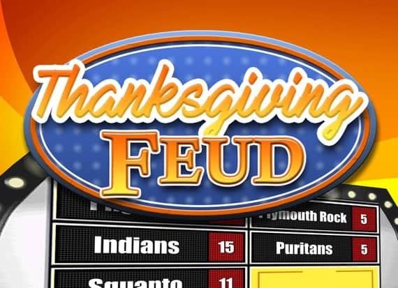 Thanksgiving Family Feud Game $9 At Etsy