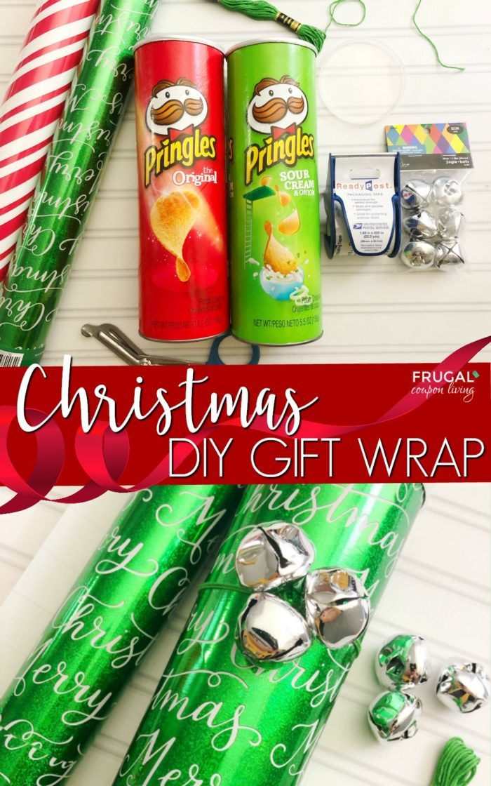 Pringles Can Craft for Christmas
