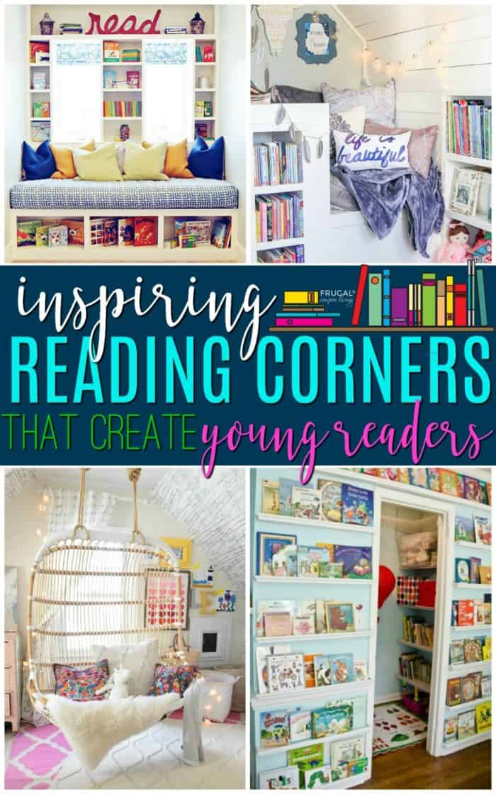Creative Kids Reading Corner Ideas for the Home