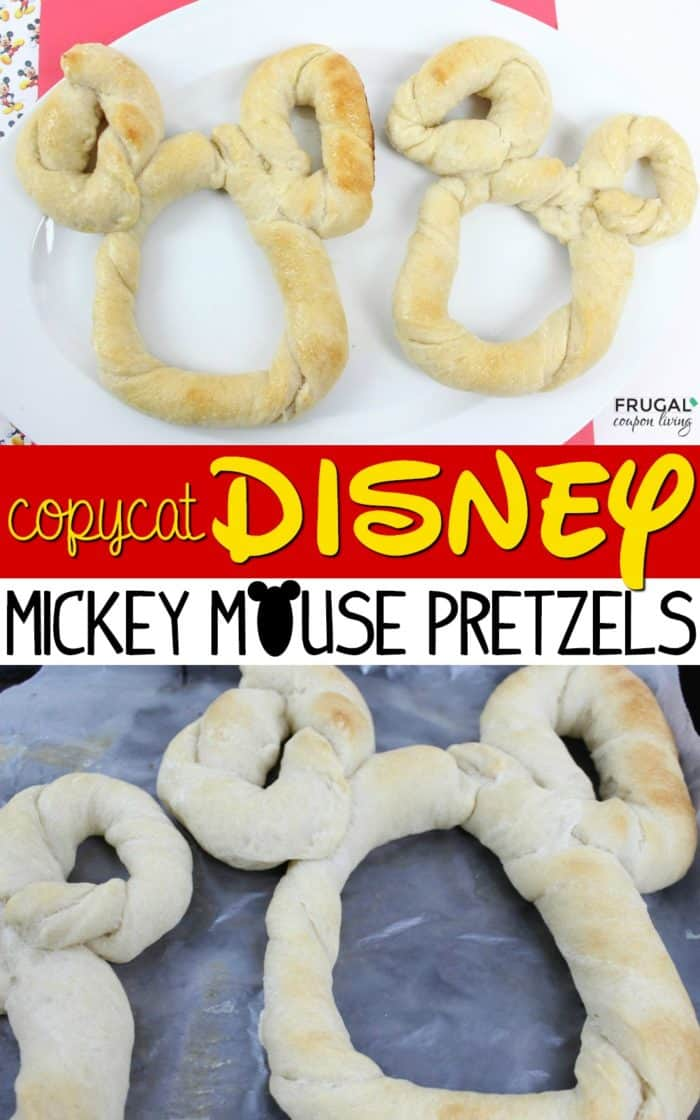 Copycat Disney World Mickey Mouse Pretzels