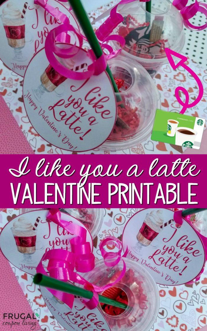 I Like You A Latte Valentine S Day Teacher Gift