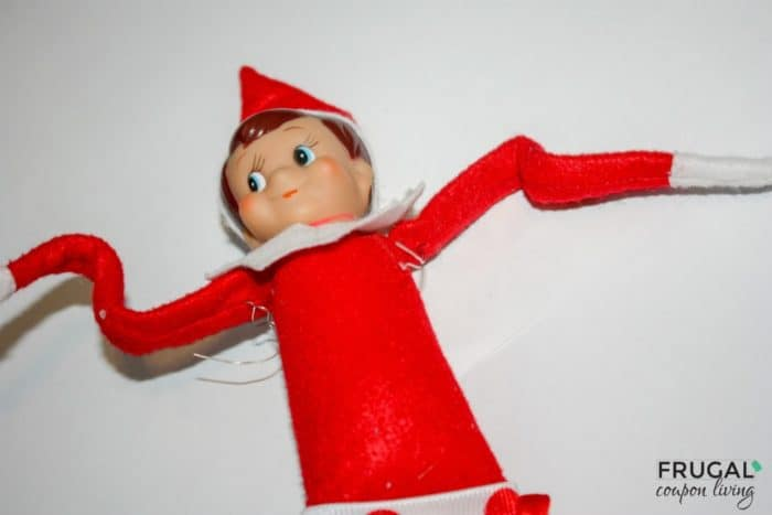 How to make My Elf on the Shelf Bendable